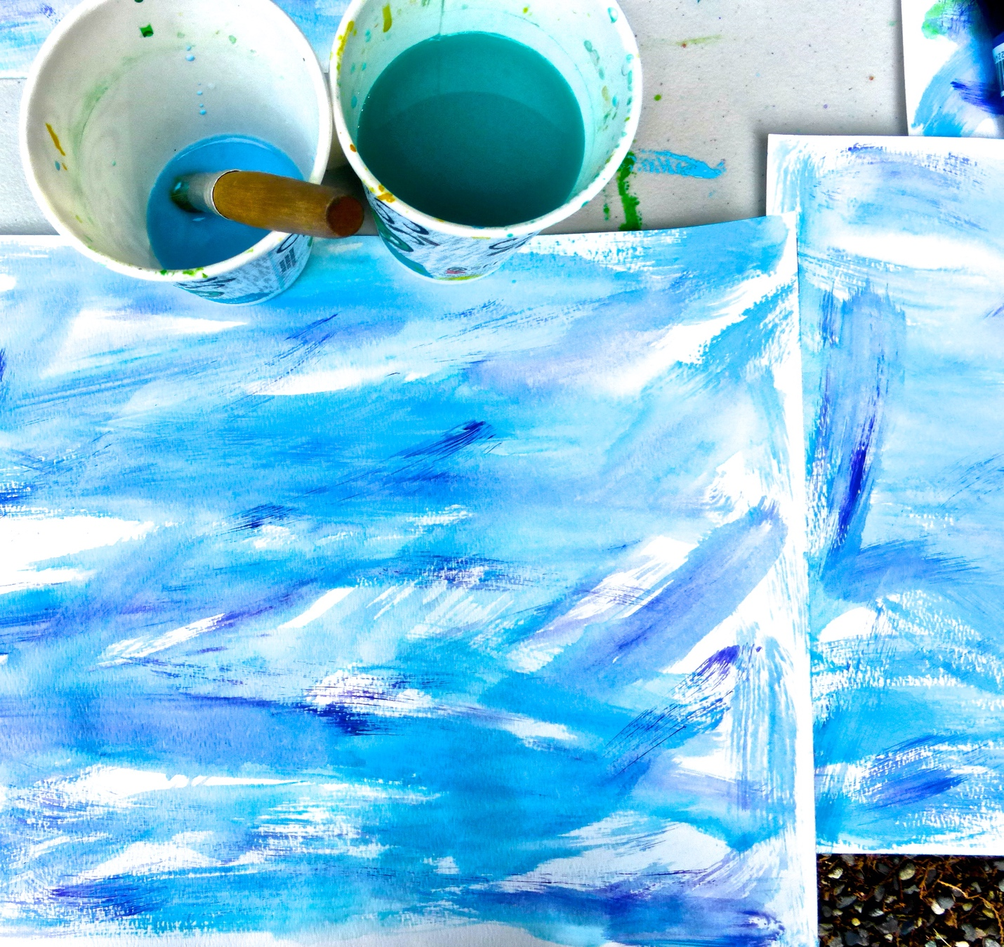 Painting Papers II – Texture