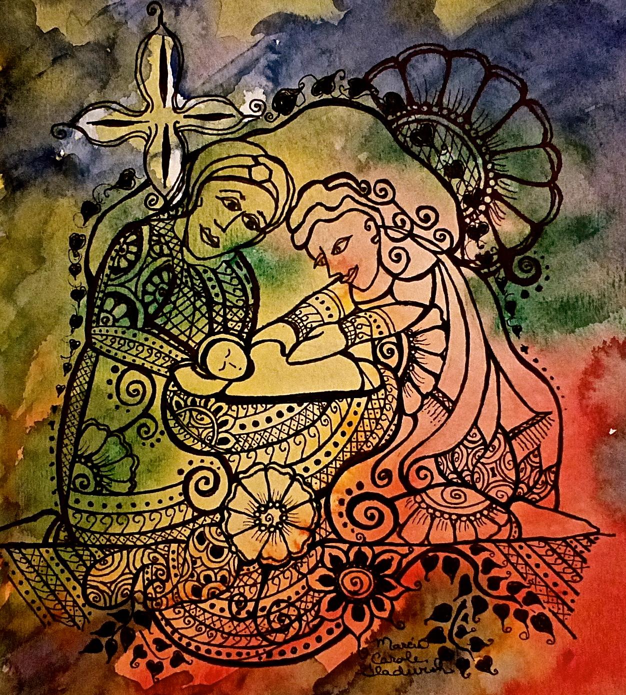 The Nativity – Mehndi Style