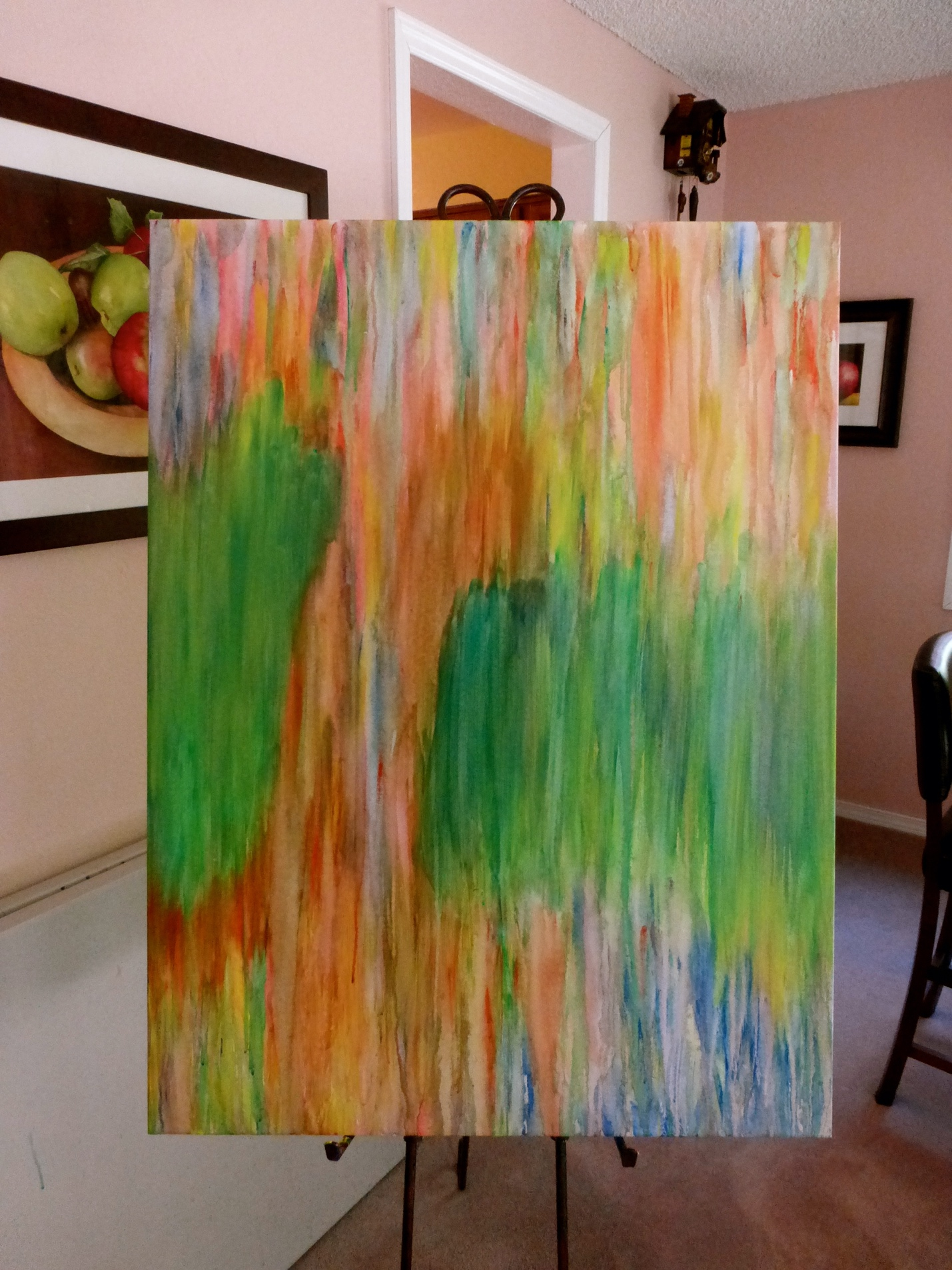 Mehndi Tree on Canvas