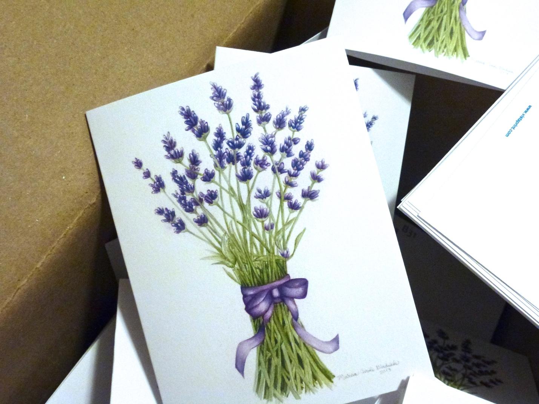 Lavender Cards Have Arrive
