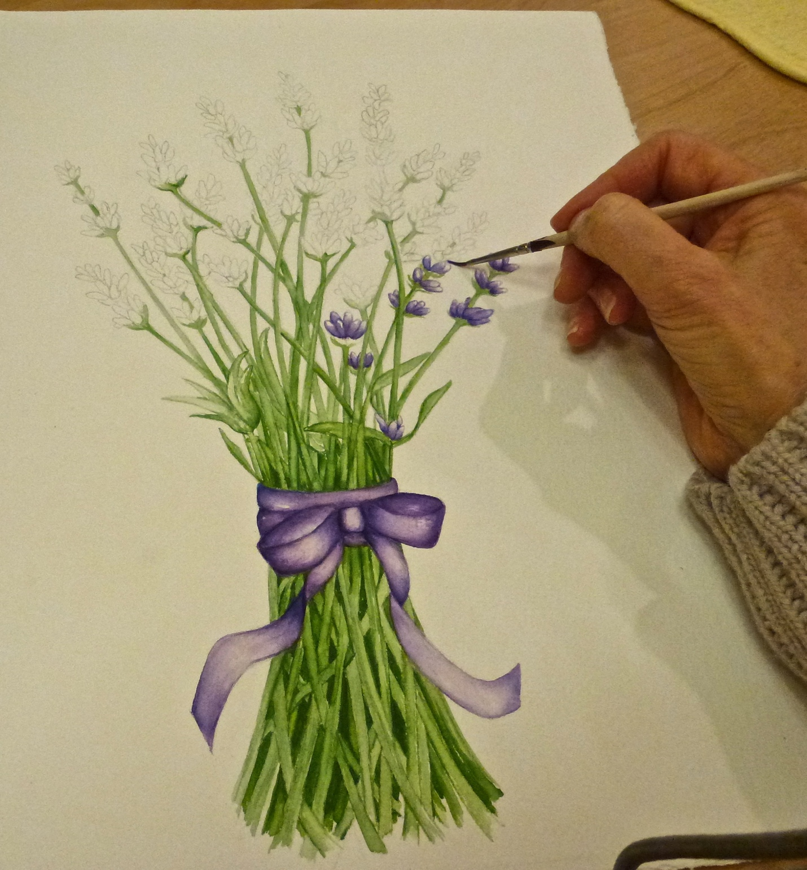 Lavender Cards Progress