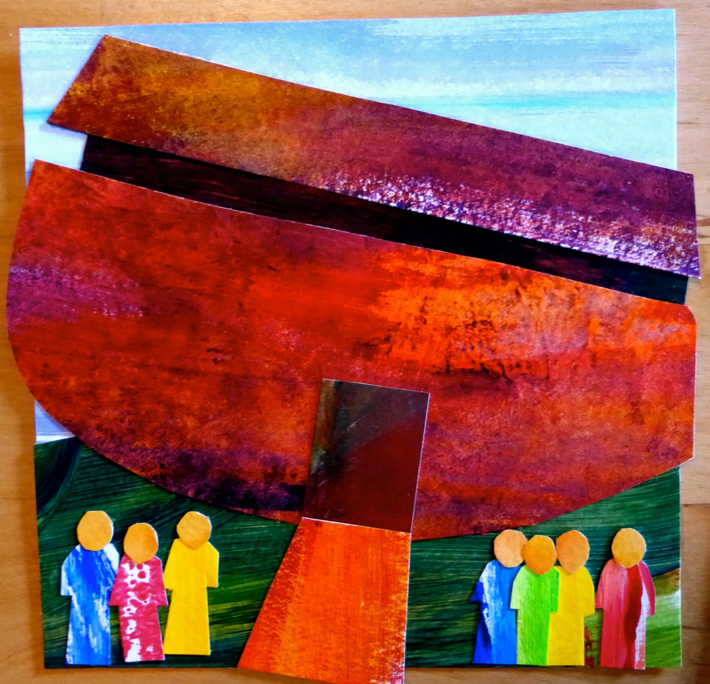Collaged Book Of Noah