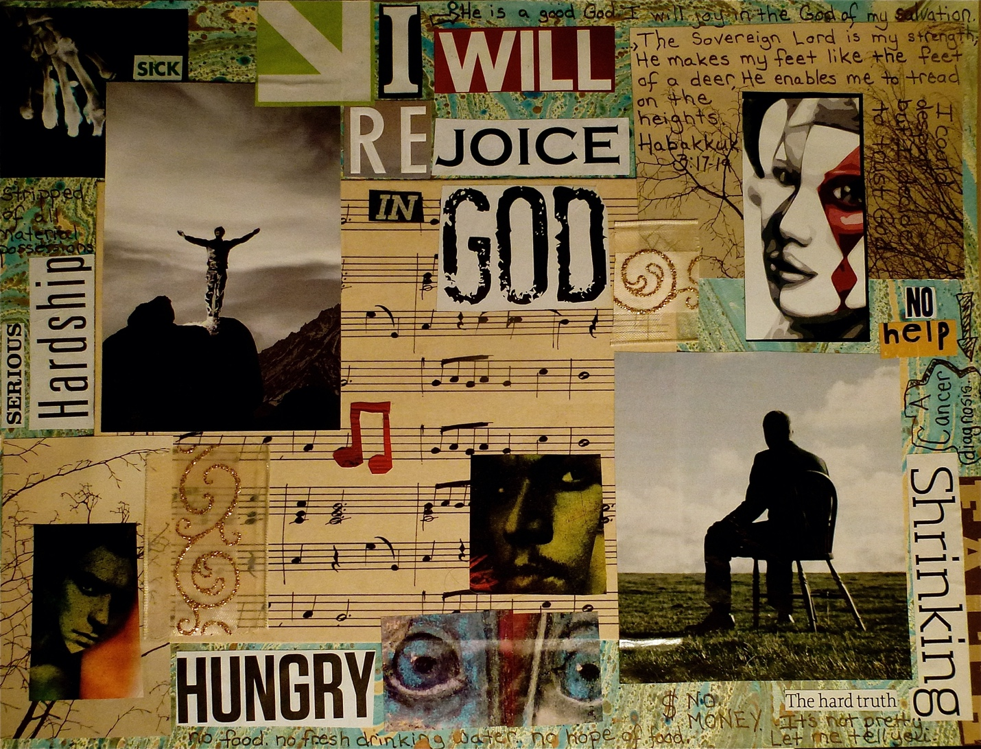 I Will….Rejoice.