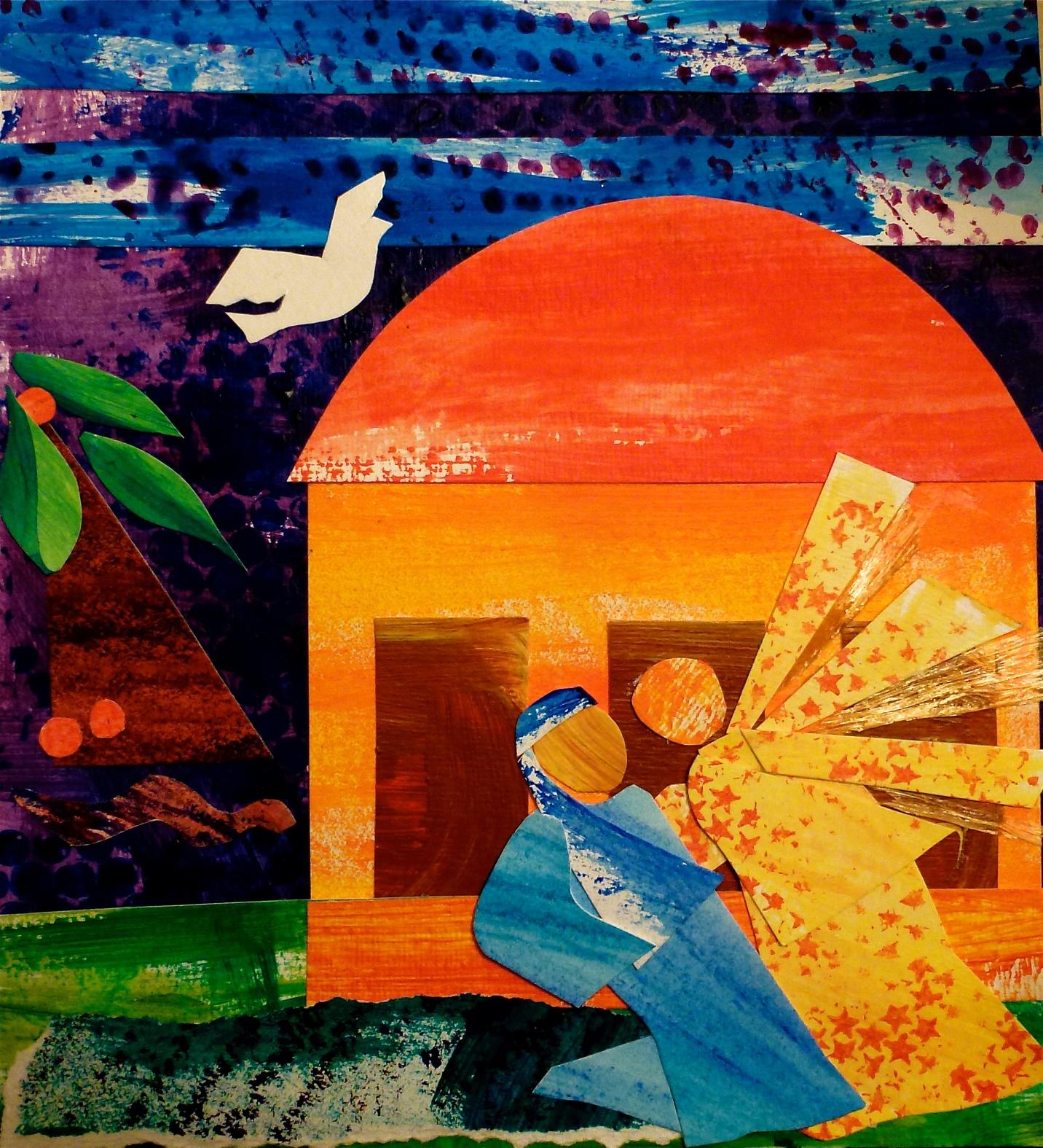 Annunciation Collage